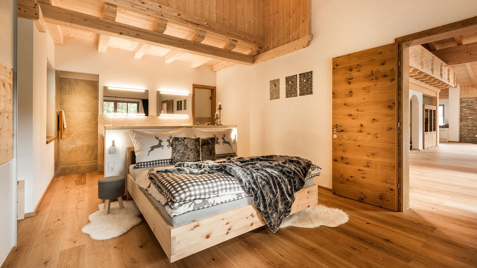 Luxus Chalet Für 2 8 Personen In Seefeld   Märchenblick, Schlafzimmer  Entwurf